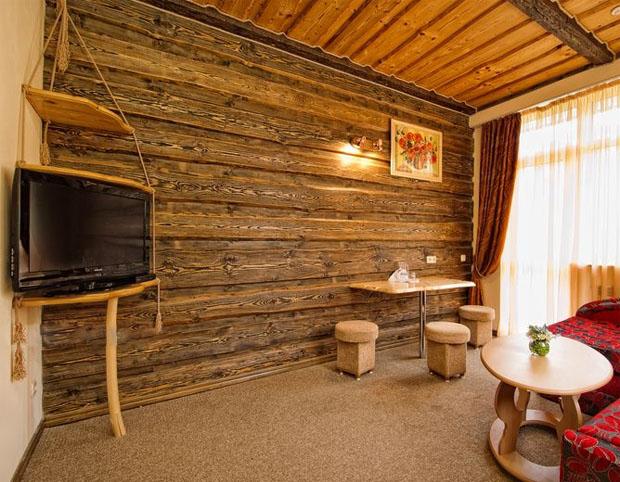 Блок хаус – украшение любого интерьера