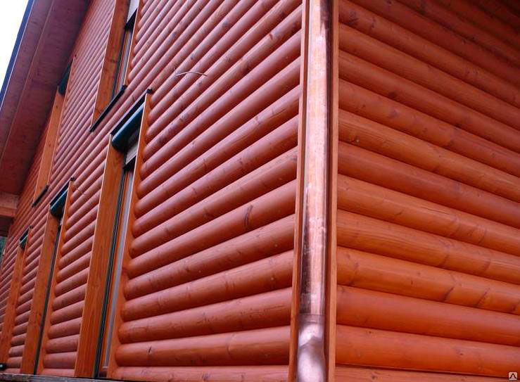 Блок хаус с покрытием