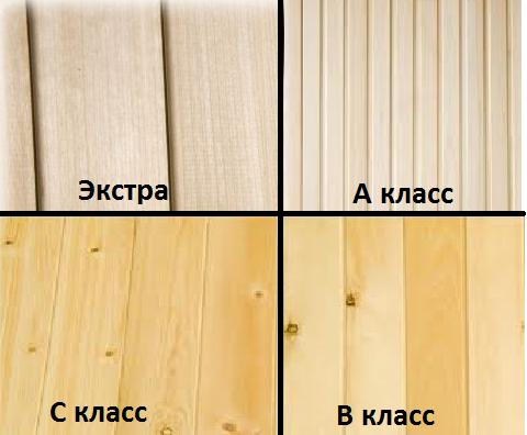 Бруски деревянные сорта
