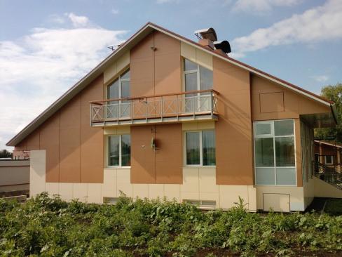 Чем отделать фасад частного дома