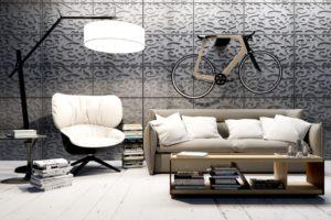 Декор стен из бетона