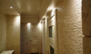 Декоративная штукатурка в коридоре