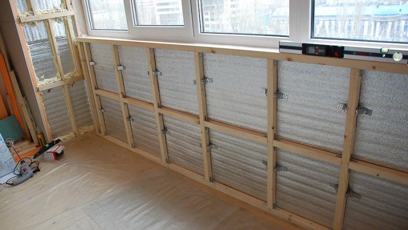 Технология отделки лоджии панелями пластиковыми edem-style.r.