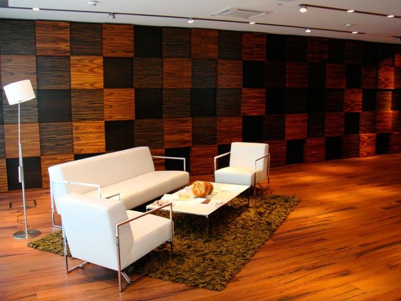 Деревянные стеновые панели в интерьере фото