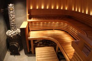 Дизайн бани со скрытыми углами