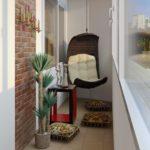 Интересные идеи по отделке балконов, фото вариантов