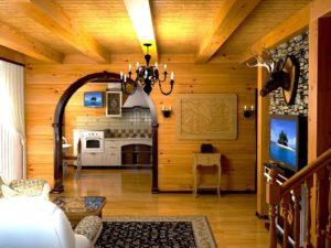 Дизайн отделки стен в доме