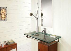 Дизайн отделки ванной комнаты пластиковыми панелями