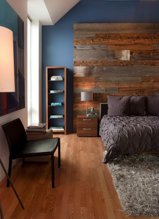 Дизайн стен во многом зависит от цвета и текстуры ламината
