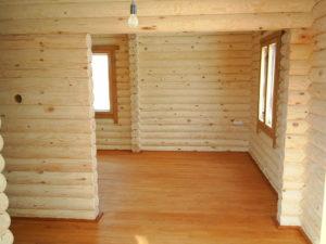 Дом из оцилиндровки - экологически чистый дом