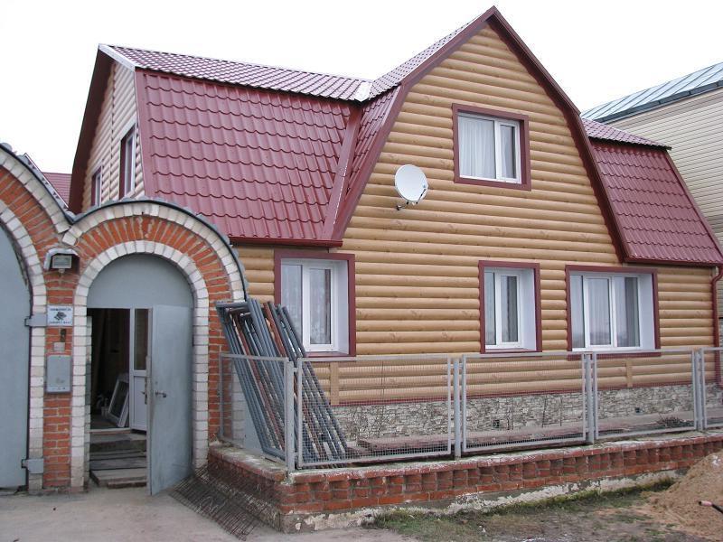 Дом после отделки фасада