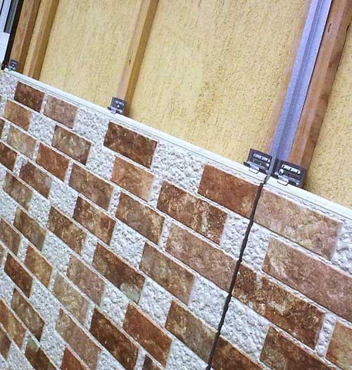 Фасадные панели из фиброцементных плит