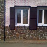 Особенности отделки цоколя частного дома