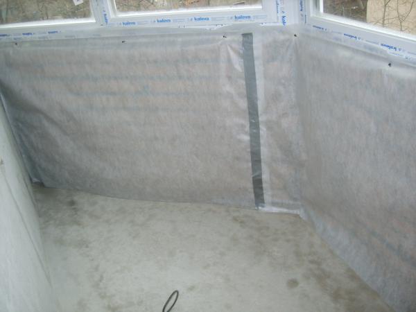 Использование полиэтиленовой пленкой