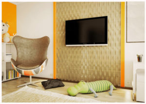 Гипсовые 3D панели это – эксклюзивное решение для декора стен