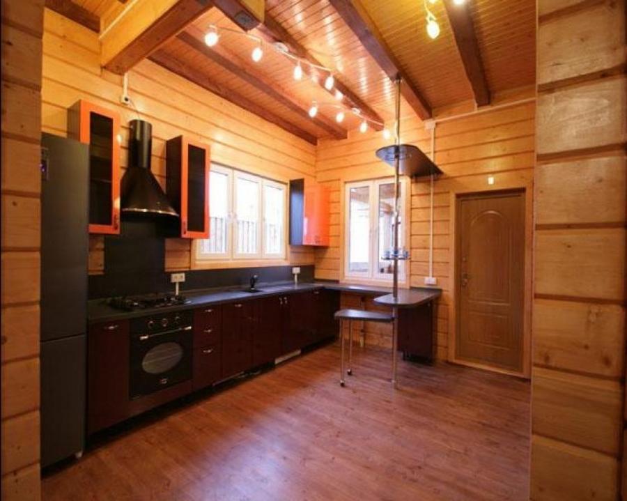 Идеи отделки кухни вагонкой в частном доме или на даче