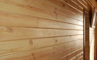 Имитация бруса – обшивочные доски для внутренней и внешней отделки стен