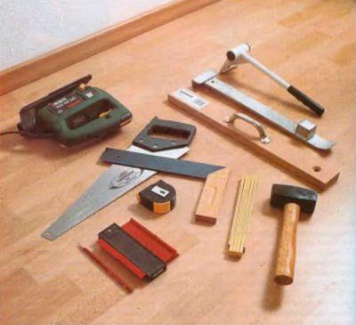 Инструменты для монтажа ламината