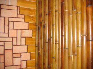 Использование бамбука для отделки