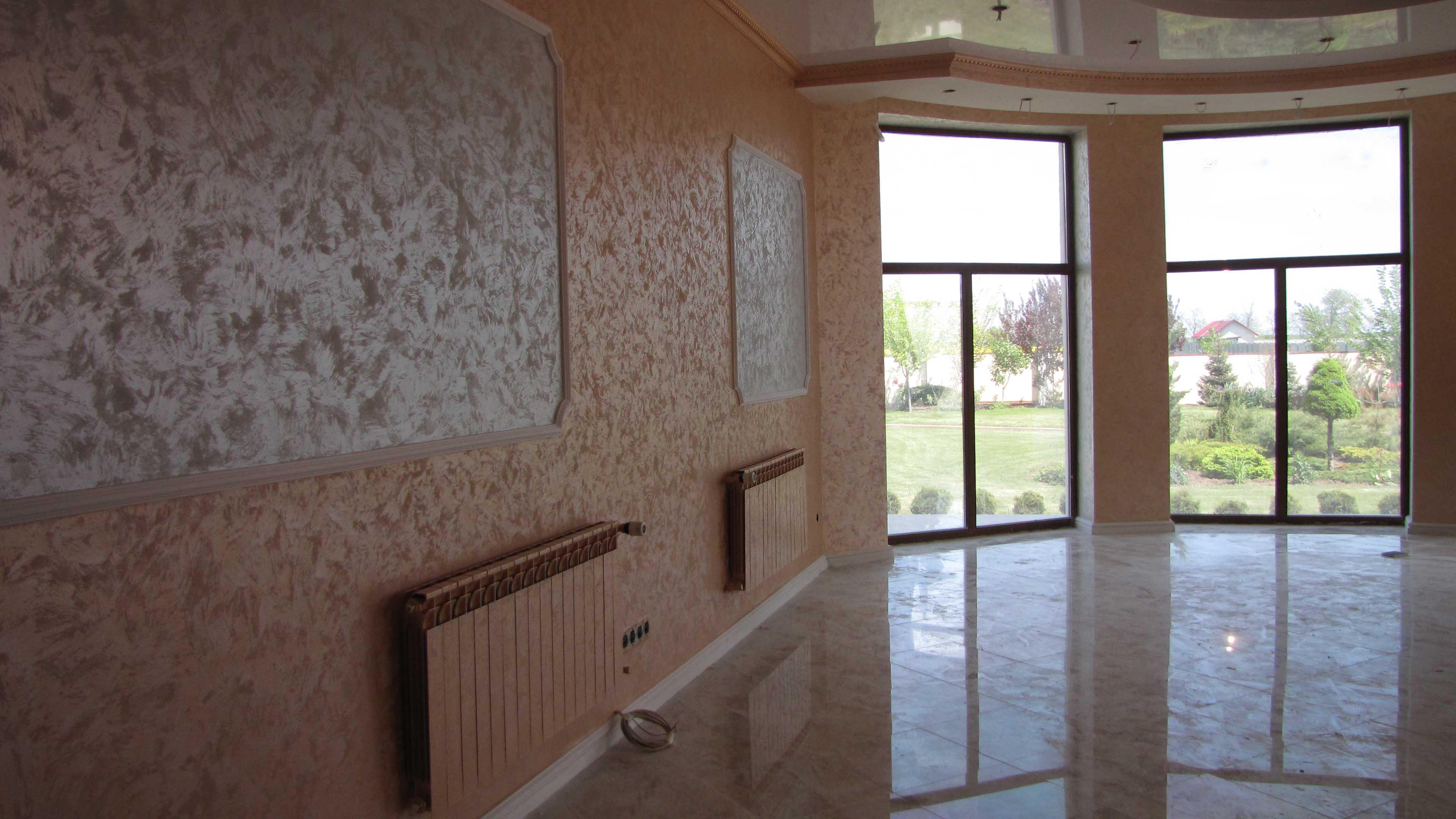 Качественное покрытие стен