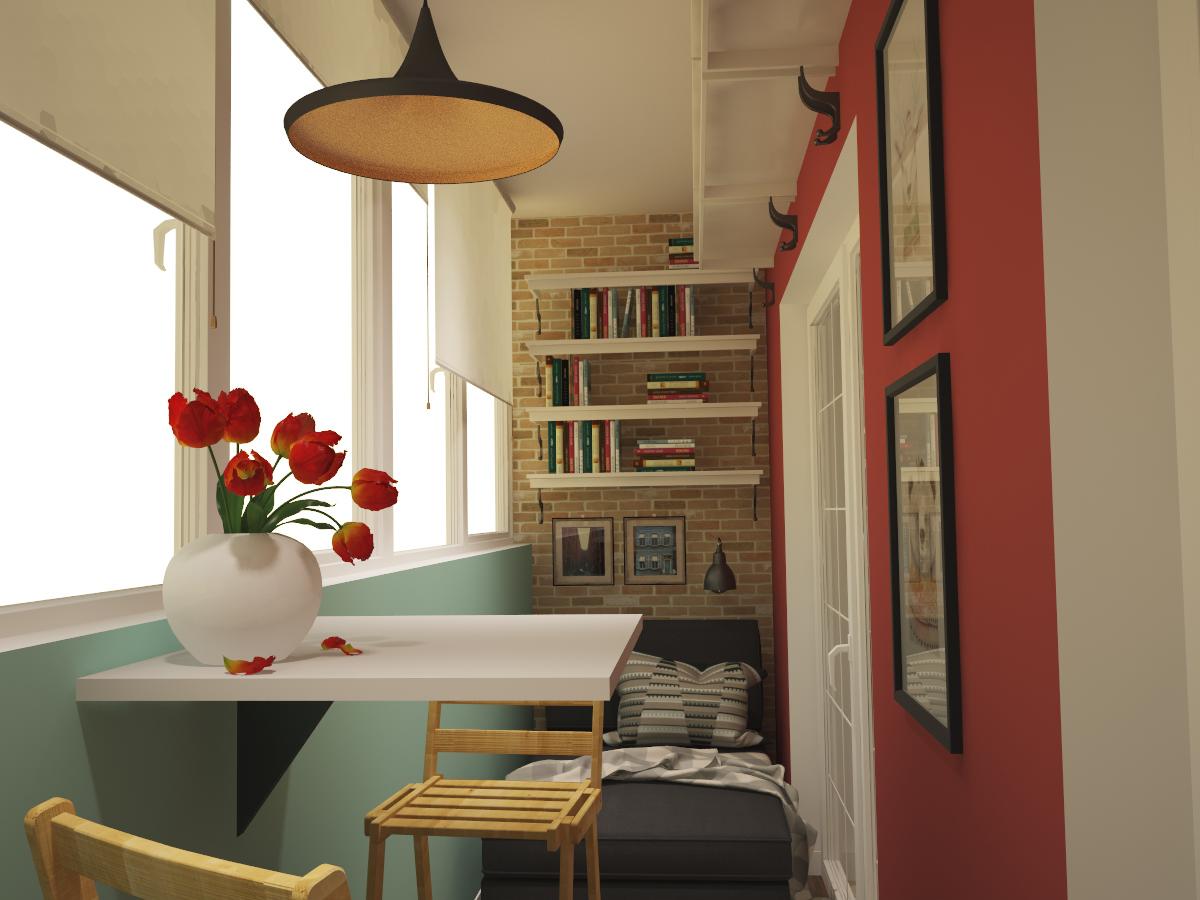 Интересные идеи по отделке балконов, фото вариантов edem-sty.