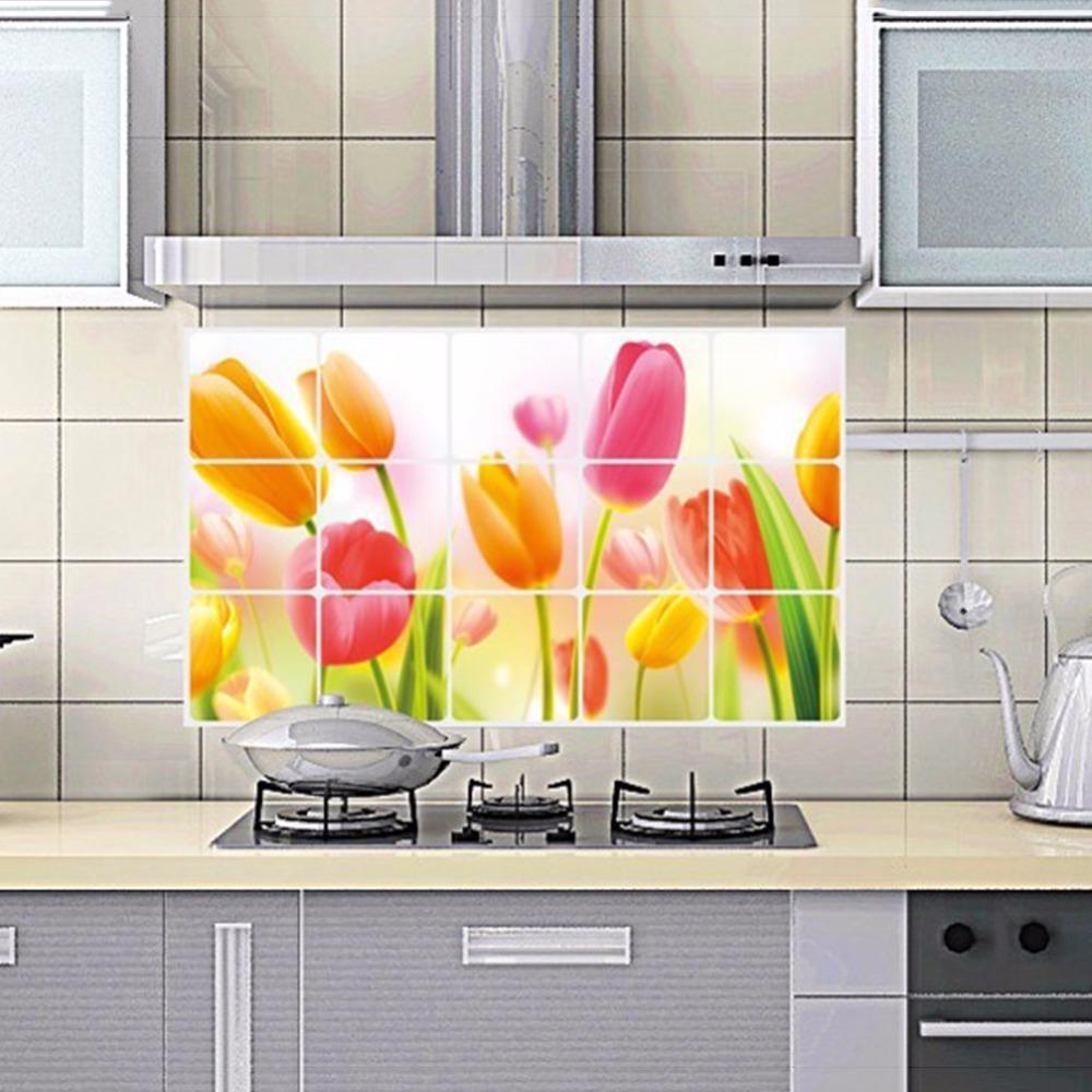 Керамическая плитка на стенах в кухне