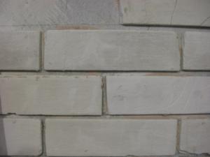 Оформление стены кирпичами из гипсокартона