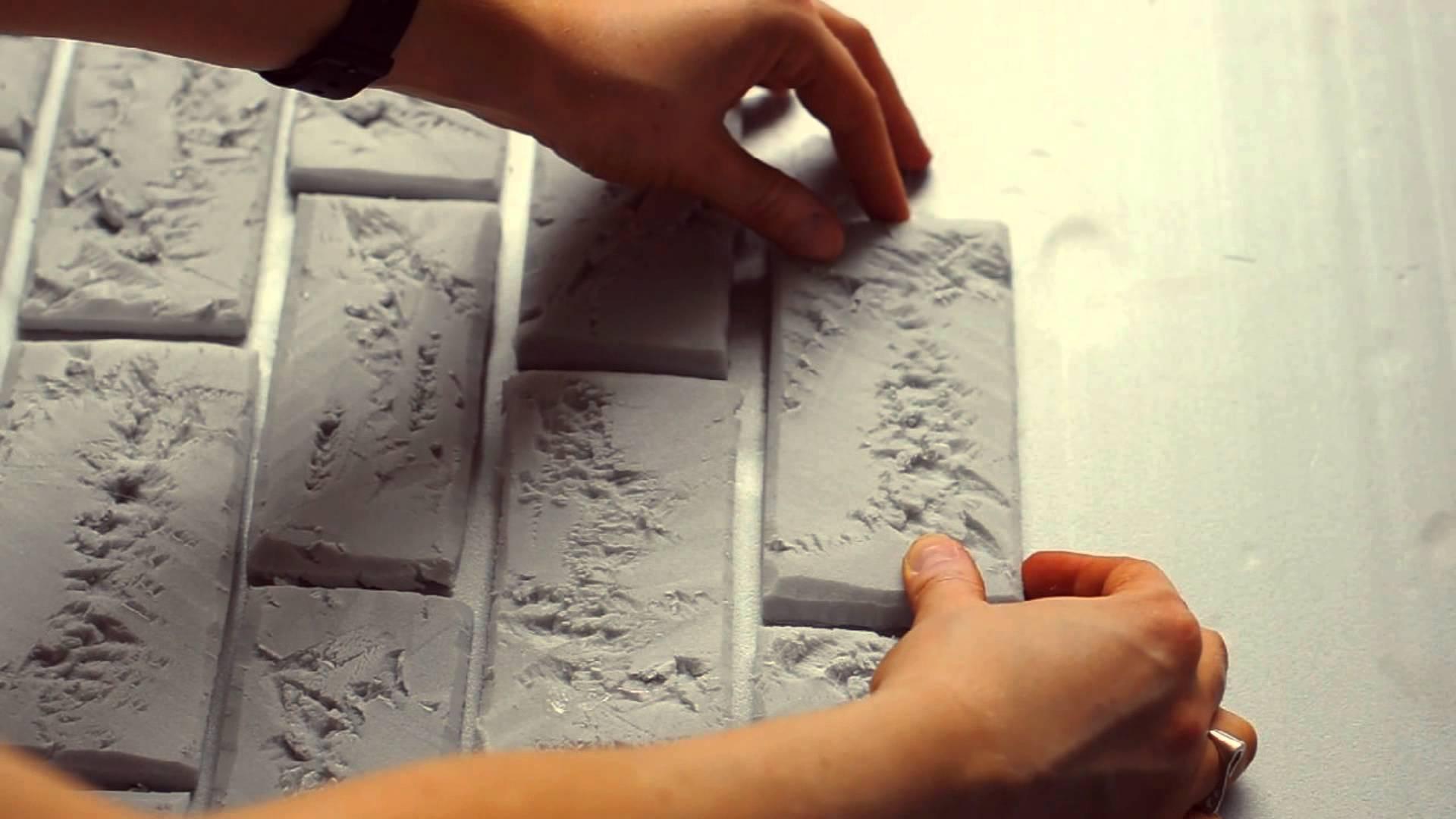 Отделка стен под кирпичную кладку, советы по выполнению работ
