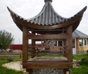 Колодец в китайском стиле