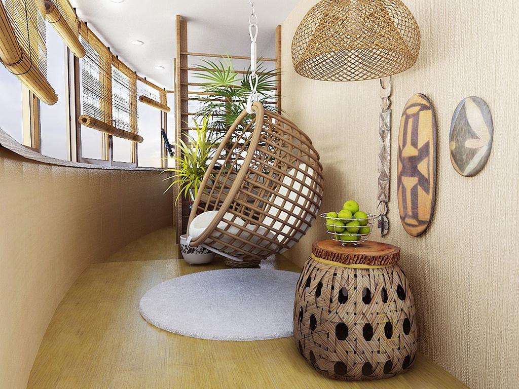 Красивая мебель для лоджии