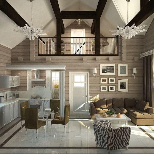 Красивое оформление частного дома