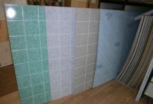 Листовые панели в ванную