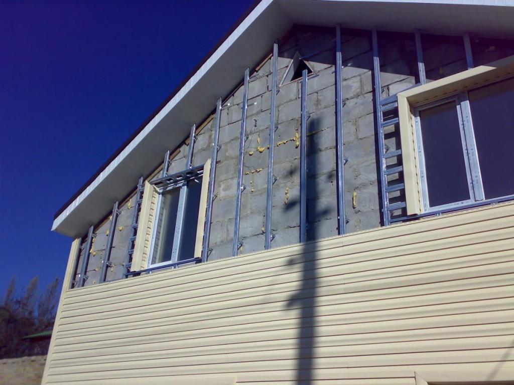 Способы отделки фасадов домов из газобетонных блоков