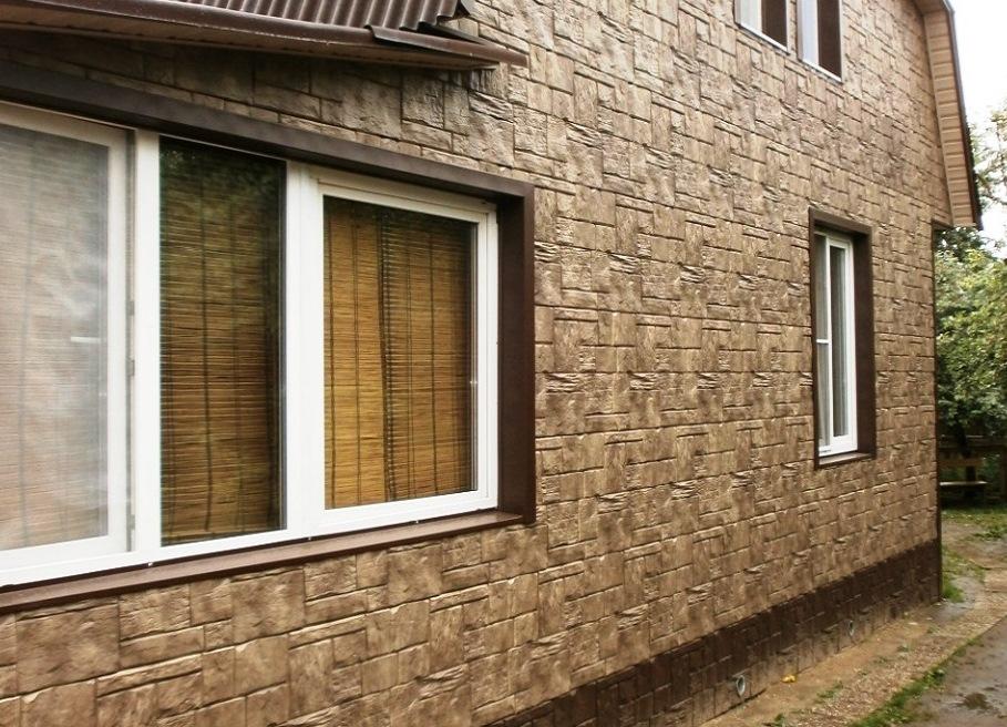 Применение фасадных панелей для наружной отделки