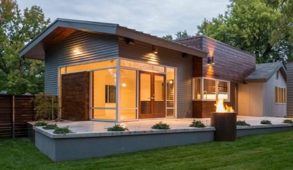 Облицовка фасадов домов металлическими панелями