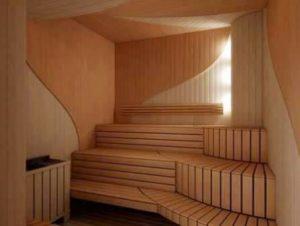 Обшивка стен бани имитацией бруса