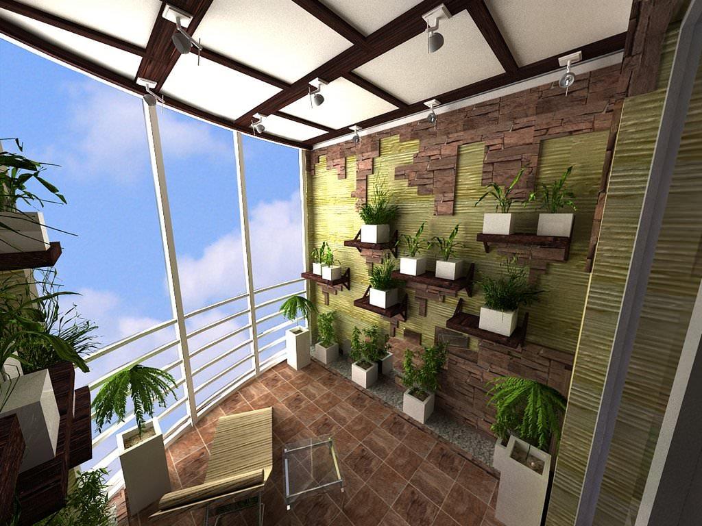 Интересные идеи по отделке балконов, фото вариантов всегда в.