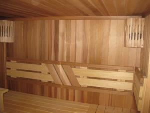 Какой бывает отделка бани внутри, фото примеров