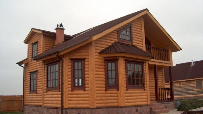 Отделка дачного дома