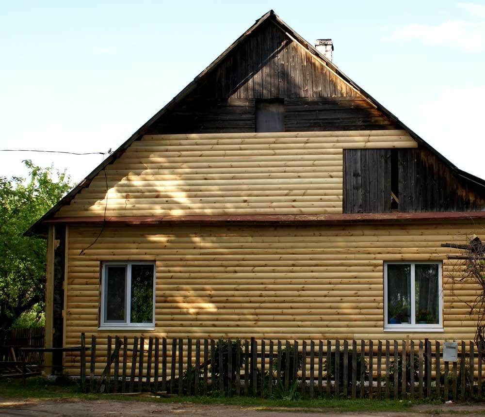 Отделка дома блок хаусом расценки