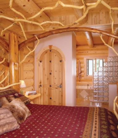Отделка элитных деревянных домов