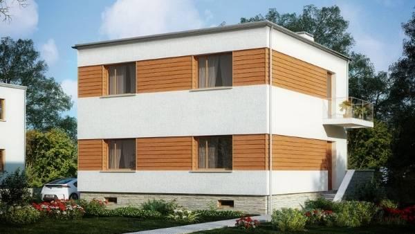 Отделка фасадов домов металлическими панелями