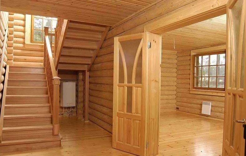 Внутренняя отделка частного дома своими руками 84