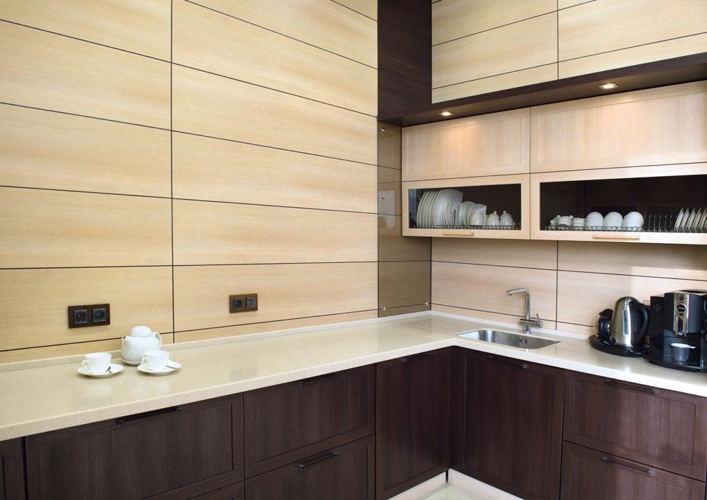 Как панелями отделать кухню своими руками