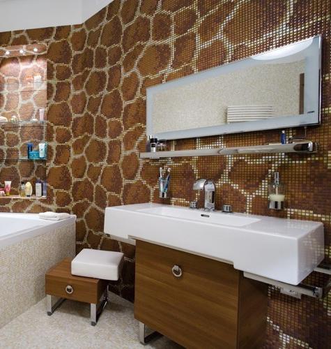 Отделка мозаикой ванной комнаты — как сделать самостоятельно