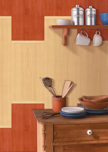 Отделка стен кухни панелями - современно и недорого
