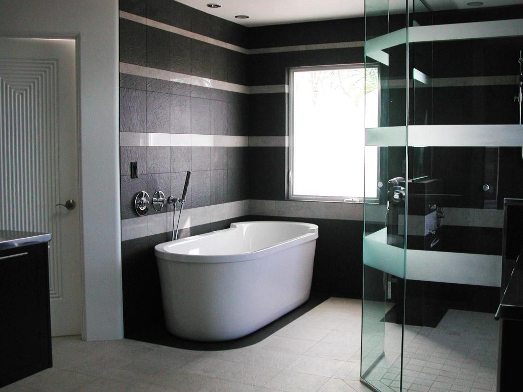 Отделка ванной комнаты керамогранитом