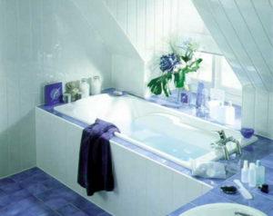 Отделка ванной пластиковыми панелями своими руками