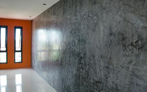 Отделка внутренних стен под камень