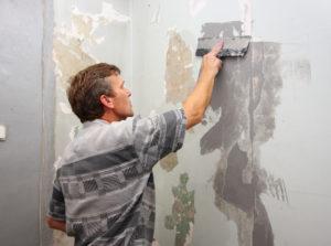 Подготовка стен для укладки ламината